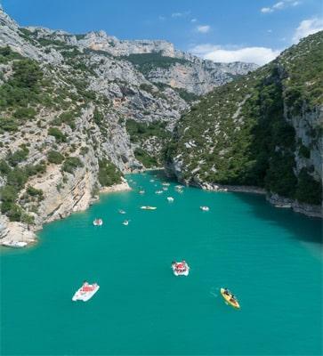Villages vacances avec lac de baignade