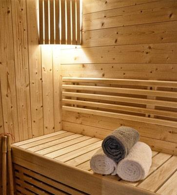 Villages vacances avec sauna